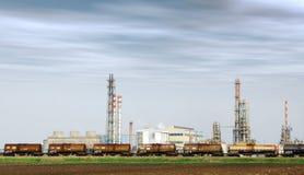 Heavy industry factory Stock Photos