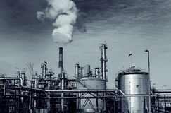 Heavy industry factory installation Stock Photography