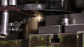 Heavy industry - NUT-sheet metal punch machine, stock footage