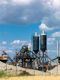 Heavy industry site Stock Images