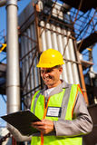 Heavy industry worker Stock Image