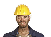 Heavy industry worker portrait royalty free stock photography