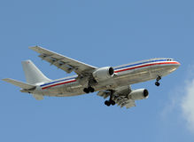 Heavy jet airplane Stock Photography