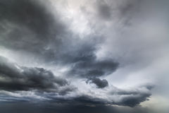 Heavy leaden cloud / sky before heavy rain. Photo sky before heavy rain Royalty Free Stock Image