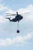 Heavy-lift cargo helicopter Sikorsky CH-53 Sea Stallion Royalty Free Stock Photography