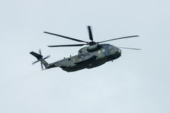 Heavy-lift cargo helicopter Sikorsky CH-53 Sea Stallion of the German Army. Royalty Free Stock Image