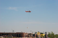 Heavy Lift Helicopter Stock Photography