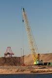 Heavy lift mobile crane Stock Photos