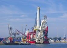 Heavy lift vessel Royalty Free Stock Photography
