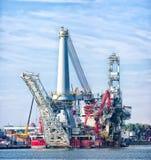Heavy lift vessel Stock Photos