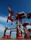 Heavy lifting crane Royalty Free Stock Photography