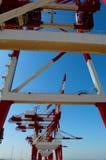 Heavy lifting crane Royalty Free Stock Photo