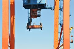 Heavy Lifting Crane Royalty Free Stock Images