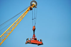 Heavy Lifting Crane Royalty Free Stock Photos