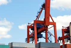Heavy Lifting Crane Royalty Free Stock Photos