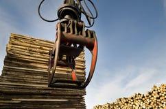 Heavy lifting crane Stock Photo