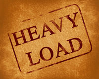 Heavy load Stock Image