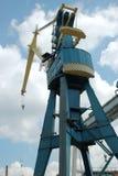 Heavy load dockside cranes Royalty Free Stock Photo