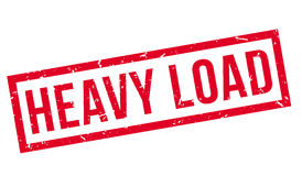 Heavy Load rubber stamp Stock Photos