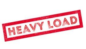 Heavy Load rubber stamp. Heavy Load, rubber stamp on white. Print, impress overprint royalty free illustration