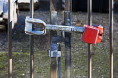 Heavy lock Royalty Free Stock Images