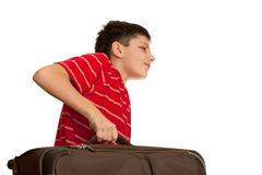 Heavy luggage Stock Image