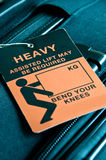 Heavy Luggage Royalty Free Stock Images