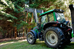 Heavy machine forestry Royalty Free Stock Photography