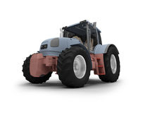 Heavy machine front view Royalty Free Stock Image