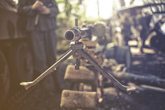 heavy machine gun Stock Images