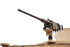 Heavy Machine Gun Left - Isolated Royalty Free Stock Images