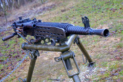 Heavy machine gun Royalty Free Stock Photo