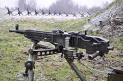 Heavy machine gun Stock Image