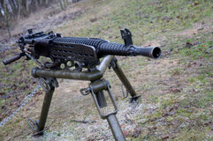 Heavy machine gun Royalty Free Stock Images