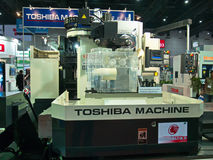 Heavy machine from toshiba japan in  Metalex 2014,the pride of asean,thailand Royalty Free Stock Photography