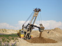 Heavy machinery. Working Royalty Free Stock Photos