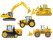 Heavy machinery Royalty Free Stock Image