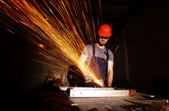Heavy manual worker Stock Photos