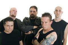 Heavy metal band Stock Image
