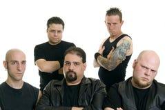Heavy metal band Royalty Free Stock Photos