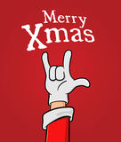 Heavy Metal Christmas Stock Photo