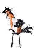 Heavy metal girl Royalty Free Stock Photos