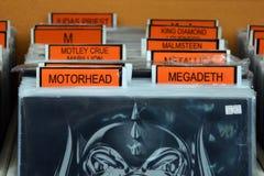 Heavy metal music Stock Image