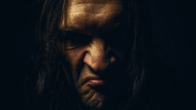 Heavy Metal Portrait Stock Images