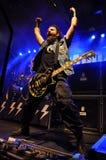 Heavy Metal, Rockkonzert Live Lizenzfreies Stockfoto