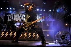 Heavy Metal, Rockkonzert Live Lizenzfreie Stockbilder