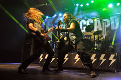 Heavy Metal, Rockkonzert Live Lizenzfreie Stockfotografie