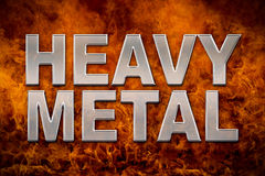 Heavy Metal Themed background Stock Photo