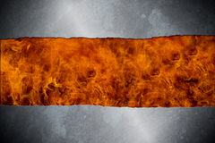 Heavy Metal Themed background Stock Image