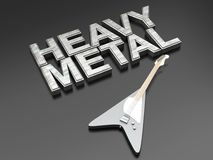 Heavy Metal Royalty Free Stock Photo